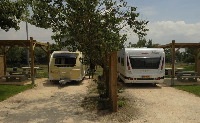 משרד האוצר יעודד את תיירות הקרוואנים בישראל