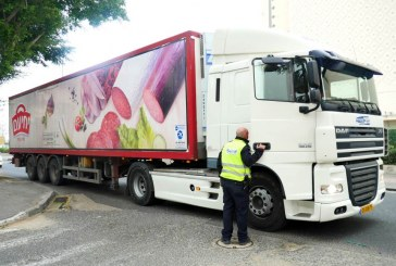 קנסות לנהגי משאיות מזהמות