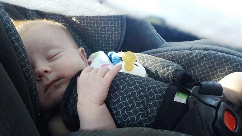 יוזמה חדשה. תינוק ברכב|צילום: pixabay.com