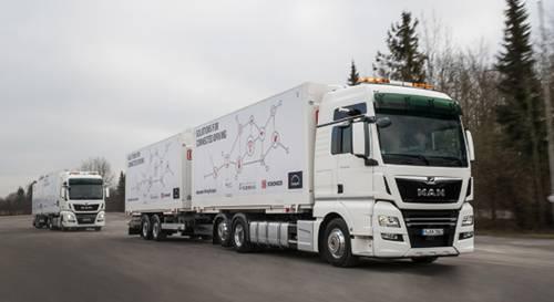 משאית אוטונומית|צילום: מורג ביטן